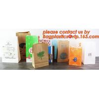 Buy cheap Customize Translucent Window, Brown Greaseproof Kraft Paper Bag, Special Opp Window Bag, window bags, paper window bags product