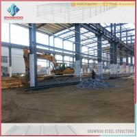 Buy cheap SHOWHOO Prefabricated Space Frame Metal Shed Build Steel Structure Factory Building product