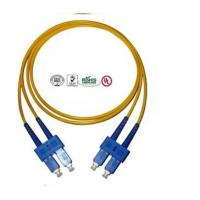 Buy cheap  SC Fiber Optic Patch Cord Singlemode  product