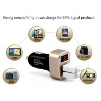 Buy cheap manufacture of Customized car charger quik charge rapid charge mobile phone charger from wholesalers