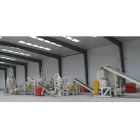 Buy cheap 1000kg Per Hour Tyre Crushing Machine , Waste Tire Recycling Machine Low Noise product