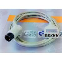 Buy cheap 6 Leads Compatible ECG Monitor Cable , 6 Pin Ecg Cables And Leadwires product