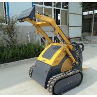 Buy cheap Diesel Engine Mini Skid Steer Track Loader , Hydraulic Breaker Crawler Loader product