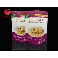 Buy cheap Custom Stand Up Pouches For Food , 10 oz Food Packaging Stand Up Barrier Pouches product