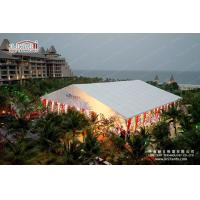 Fire Retardant Tents For Outdoor Events Marquees With Colourful Lining