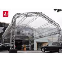Buy cheap Customized Irregular Heart Or Star Aluminum Spigot Truss Easy To Assemble And from wholesalers