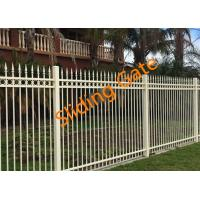 Buy cheap Decorative Courtyard Automatic Driveway Gates , Electric Metal Gates Heat Treated product