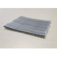 Buy cheap Radiator Plate Fin Heat Sink Aluminum Auto Parts For New Energy Vehicle product