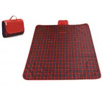 Buy cheap Collapsible Waterproof Picnic Mat , 600D Oxford Fabric Travel Picnic Blanket product