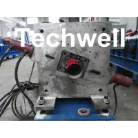 Buy cheap Round Downspout Machine with Hydraulic Cutting / Downspout Roll Forming Machine product
