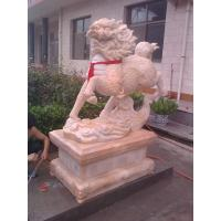 Buy cheap Hand Carved Chinese Style Stone Kylin Sculpture product