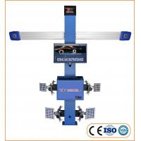 Buy cheap High Efficiency 4 Wheel Alignment Machine 2 Cameras 3D With 11''-24'' Wheel Rim product