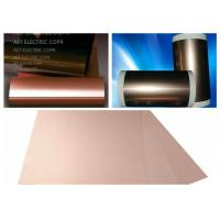 Buy cheap ROHS Single Side FCCL Copper Clad Laminate with 0.5 ~ 2.0mils thickness PI Film Mil Modified Epoxy Adhesive product