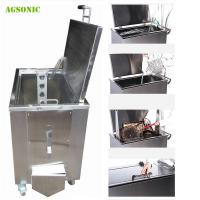 Buy cheap Customized Heated Soak Tank Kitchen Cleaning For Cafe / Bakery Pans Pots product