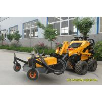 Buy cheap Farm Earthwork Mini Skid Steer Lawn Mower Loader 0.15cbm Bucket product