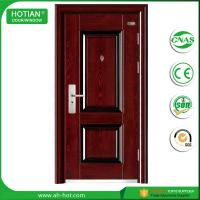 Quality Competitive Luxury Steel Door China Low Prices Modern Industrial Security Steel Door with Galvanized Handle for sale