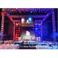 Buy cheap 300*300 mm Strong Load Capacity Easy Sliver Color Portable Speaker Truss System product