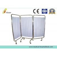 Buy cheap Stainless Steel Frame Foldable Medical Hospital Privacy Screens Easy Disassembling (ALS-WS12) product