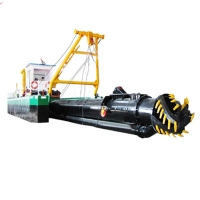 Buy cheap Marine Engine Equipped Cutter Suction Dredger With 650 Pipe Line For 20m Depth Dredging Capacity product