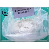 Buy cheap Benzocaine Raw Powders for Local Anesthetic CAS 94-09-7 product