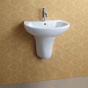 Buy cheap Wall Hung Ceramic Basin (APH001) product