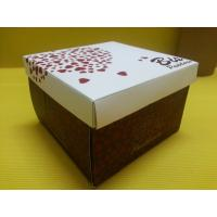 Buy cheap Cake Square Paper Gift Boxe Food Packaging Recyclable for Bakery product