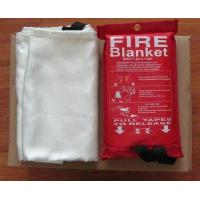Buy cheap 1.2m*1.5m  Glassfiber  Fire Blanket Fire fighting blanket product
