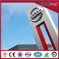 Buy cheap Floor Standing LED Advertising Pylon Signage product