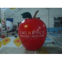Buy cheap 6ft High Apple Fruit Shaped Balloons For Exhibition Display , Inflatable Hanging Balloon product