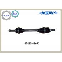 Buy cheap Front Right Automotive Shaft drive Axle 43420-02660 With Impact Structure product