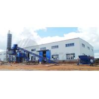 Buy cheap Industrial Concrete Batch Mix Plant 1200KG High Power For Stirring Mill product
