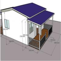 Buy cheap Living House-Light Steel Structure Prefabricated/Mobile/Prefab light steel structure house product