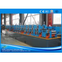 Buy cheap Carbon Steel Steel Tube Production Line , Round Pipe Manufacturing Machine product