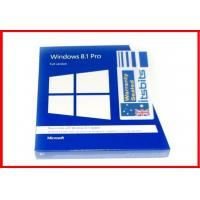 Buy cheap 32 bit / 64 bit Microsoft Windows 8.1 Pro Retail Pack windows 8.1 pro recovery Restore product