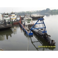 Buy cheap 22inch discharge port,18m Digging Depth,22m Length,800Kw River Dredger Machine Manufacturer product