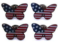 China butterfly pin badge,business gift,button badge,flag badge,emblem,souvenir wholesale
