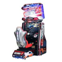 China Crazy Speed Twin Arcade Amusement Machines , 1 - 4 Players Car Driving Arcade Machine on sale