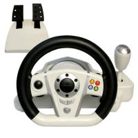 Buy cheap Adjustable Wireless / Wired PC Game Racing Wheel For Platform from wholesalers