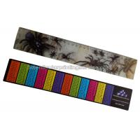 Buy cheap PET / PP Printing Customised 3d Lenticular Ruler For Student Flip Effect product