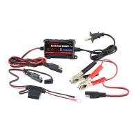 Buy cheap 12V Lead Acid Car Battery Charger , 750mA car battery charger portable product