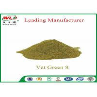 Buy cheap Army Uniform Natural Indigo Powder  C I Vat Green 8 khaki 2G CAS 14999-97-4 product