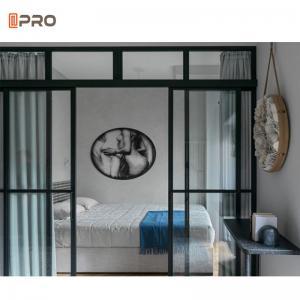 Buy cheap Interior Aluminum Sliding Glass DoorsFor Bedroom Customized product