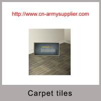 China Customerized home commercial plain jacquard carpet tiles with backing on sale