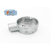 Buy cheap BS4568 Circular Gi Conduits And Accessories Malleable One Way Terminal Box product