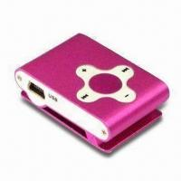 China Sport Design/Portable/Mini MP3 Player with 1 to 8GB Memory on sale