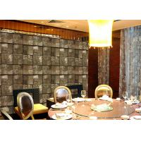 Buy cheap Embossed Stone Effect Contemporary Bedroom Wallpaper For Tv Wall Background product