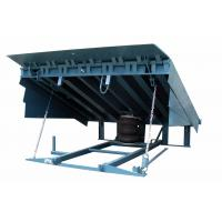 Buy cheap DCQG hydraulic stationary dock leveler( 10-0.8 ) 0.75 KW with Height adjustable product