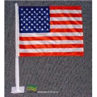China USA Car Flag, 2ply American Car Window Flag (NF08F06007) wholesale