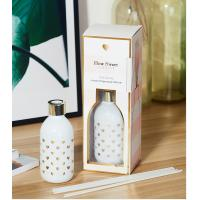 Buy cheap 2019 New factory wedding favor aroma reed diffuser set in air fresheners reed diffuser refill product