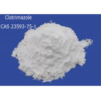 Buy cheap Clotrimazole CAS 23593-75-1 Pharmaceutical Raw Materials Antifungal Drugs product